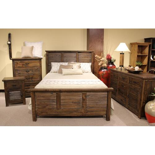 Prescott Tobacco Queen Bed
