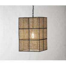 Lantern (Burlap) Light