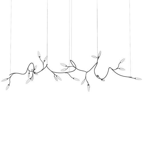 Sonneman - A Way of Light - Vines LED Pendant [Size=Large, Color/Finish=Satin Black]