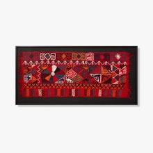 See Details - 0306540029 Vintage Textile Wall Art