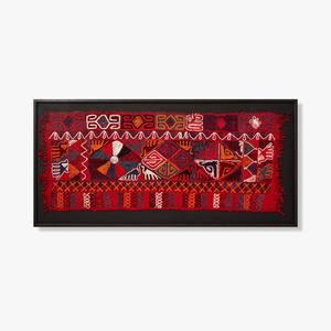 Loloi Rugs - 0306540029 Vintage Textile Wall Art