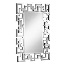 Modern 30 in. Contemporary Mirror in Clear