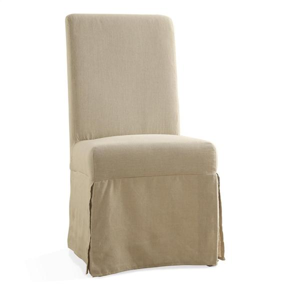 Riverside - Mix-n-match Chairs - Slipcover Parson's Chair - Canby Rustic Pine Finish