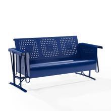 See Details - Bates Outdoor Metal Sofa Glider