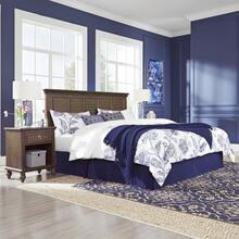 Marie King Headboard and Two Nightstands
