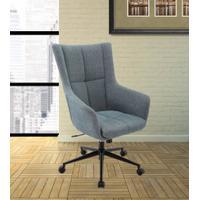 DC#206-AQU - DESK CHAIR Fabric Desk Chair Product Image