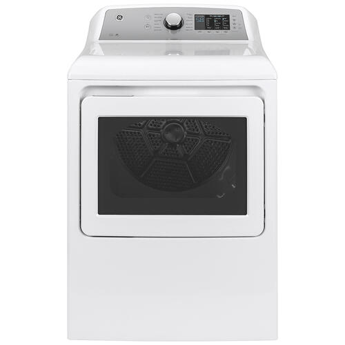 GE® 6.0 cu. ft. (IEC) Capacity Washer with SmartDispense White - GTW840CSNWS