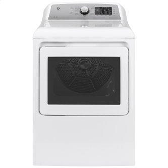 GE™ 7.4 Cu. Ft. Capacity Gas Dryer with Sanitize Cycle White - GTD72GBMNWS