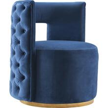 "Theo Velvet Accent Chair - 28"" W x 27"" D x 31"" H"