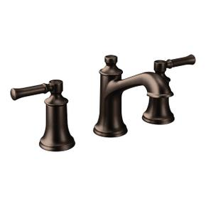 Dartmoor oil rubbed bronze two-handle bathroom faucet