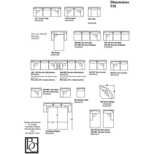 Gallery - Wexler Three-Piece Corner Sectional