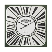 Stylized Roman numeral clock