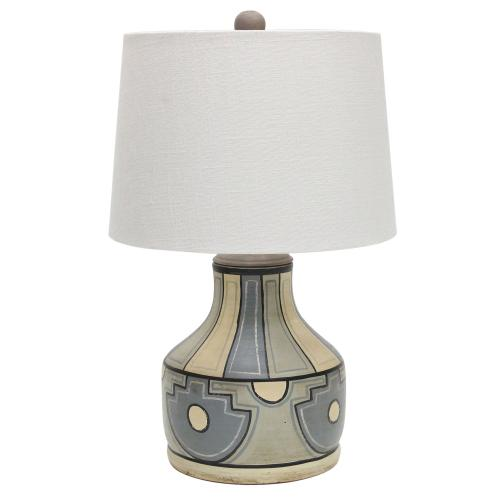 Crestview Collections - Fresno Hand painted Table Lamp