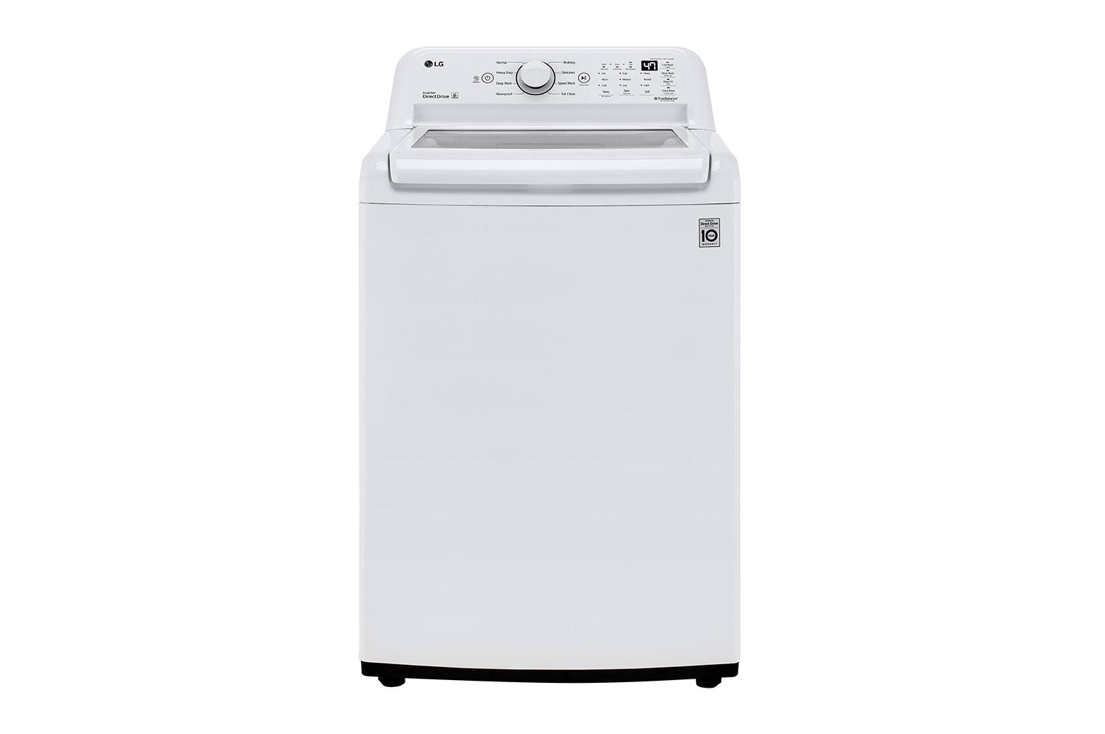 4.3 cu. ft. Mega Capacity Top Load Washer with 4-Way™ Agitator & TurboDrum™ Technology