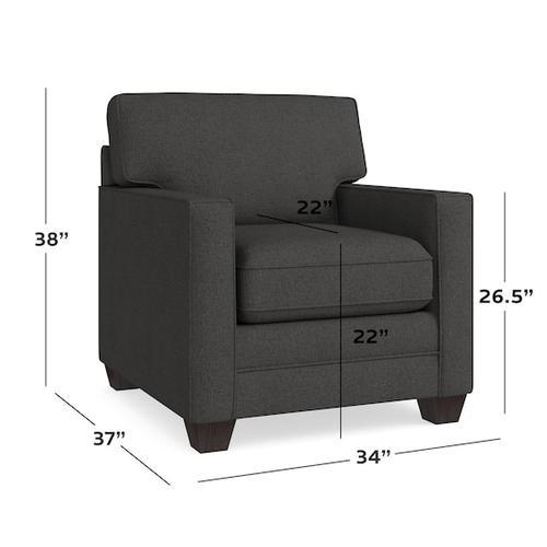 Bassett Furniture - Alexander Track Arm Chair