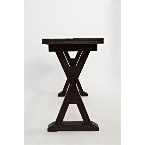 Jofran - Pacific Heights Drop Leaf Sofa Table/desk- Chestnut