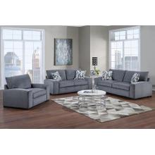 Clayton Gray Sofa, Loveseat & Chair, U5345