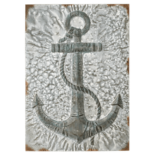Embossed Anchor Wall Decor