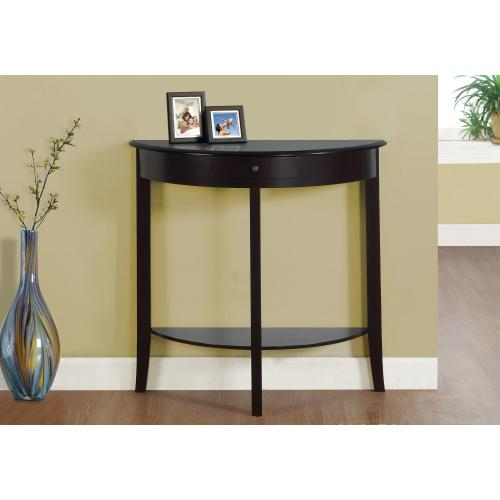 """Gallery - ACCENT TABLE - 31""""L / DARK CHERRY HALL CONSOLE"""