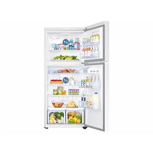 18 cu. ft. Top Freezer Refrigerator with FlexZone™ in White
