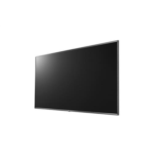 """86"""" US340C Series UHD Commercial TV with HDR10, USB Cloning & Auto Playback, Customizable Welcome Screen, Certified Crestron Connected® and Scheduler"""