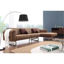 Divani Casa 0915 Modern Fabric Sectional Sofa