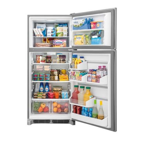 Gallery - Frigidaire Gallery Custom-Flex 20.4 Cu. Ft. Top Freezer Refrigerator