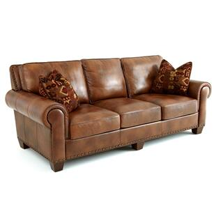 Hillsboro Sofa w/Two Accent Pillows