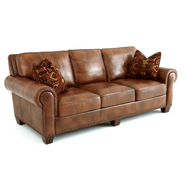 Silverado Sofa w/Two Accent Pillows