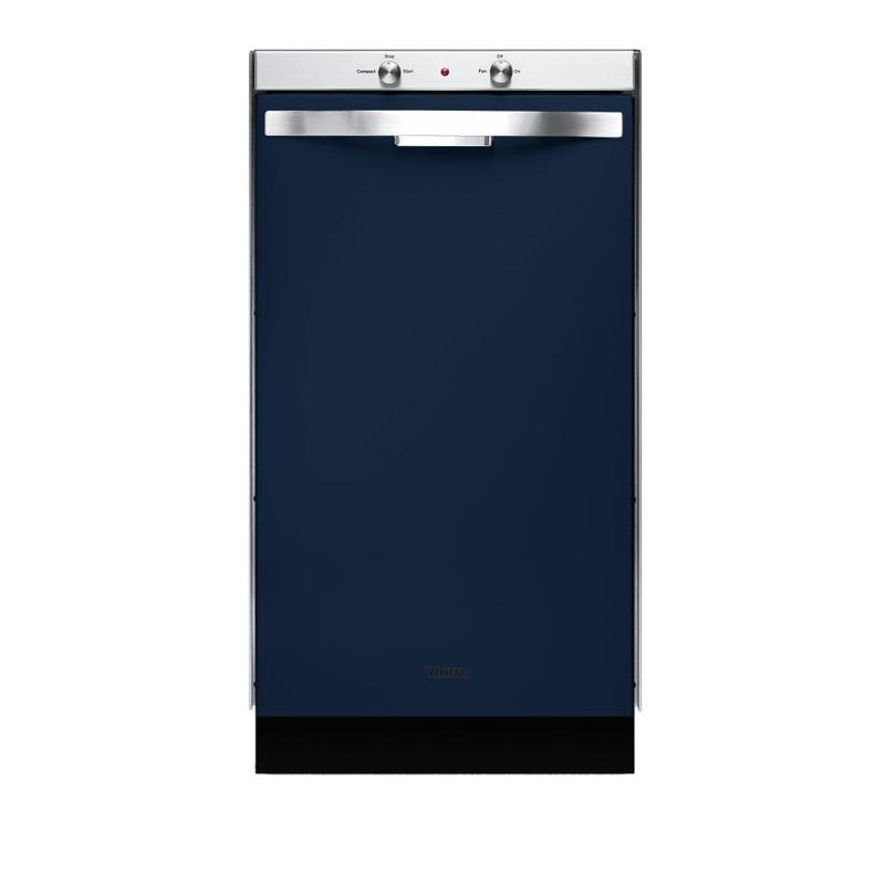 "Viking Blue 18"" Wide Trash Compactor - DUC"