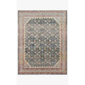 Gallery - GRA-01 MH Blue / Persimmon Rug