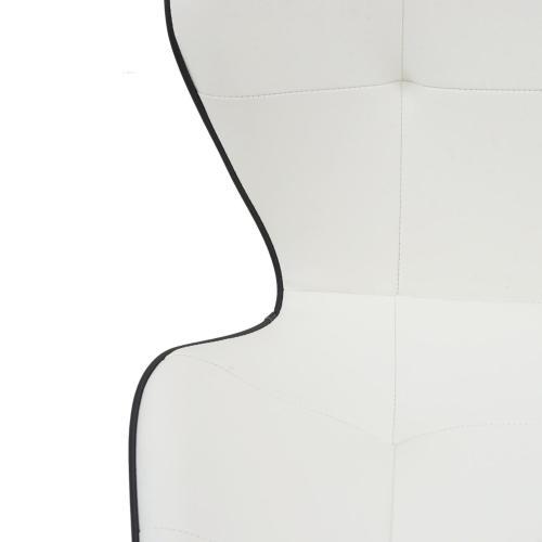 Astrid KD PU Chair, White