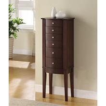 6-drawer Jewelry Armoire, Merlot