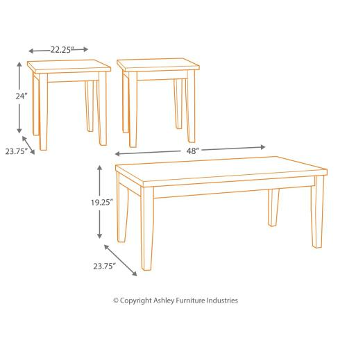 Maysville Table (set of 3)