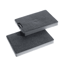 DKF10-1 Charcoal filter 2 Pcs. - OdorFree Charcoal Filter prevents unpleasant odors in the kitchen.