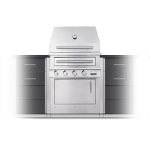 K500 Built-in Hybrid Fire Grill