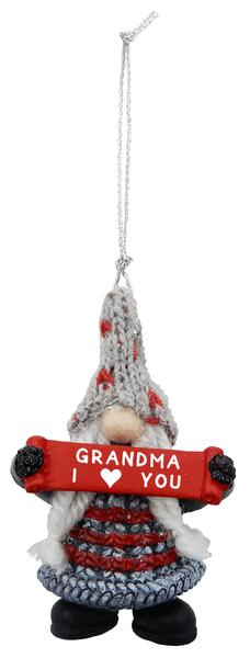 Ornament - Grandma I (Heart) You