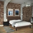 Bethany 2 Piece Queen Bedroom Set in Black Brown Product Image
