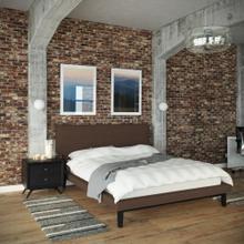 See Details - Bethany 2 Piece Queen Bedroom Set in Black Brown