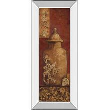 """Asian Nuvo II"" By Angela Ferrante Print in Mirrored Framed Print Wall Art"