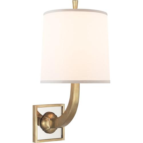Visual Comfort BBL2025SB-S Barbara Barry Petal 1 Light 8 inch Soft Brass Decorative Wall Light