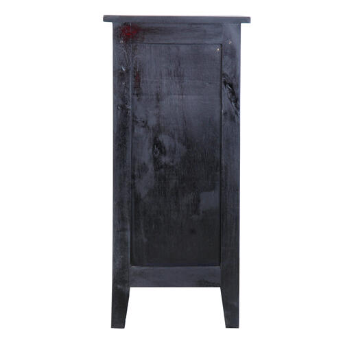 Accent Cabinet - Antique Black