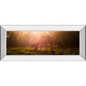 """Morning Haze"" By Joe Reynolds Mirror Framed Photo Print Wall Art"