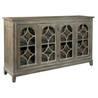 Entertainment Console With Arched Doors Product Image