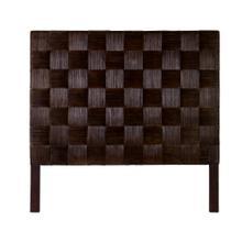 See Details - Headboard Square Dark Brown