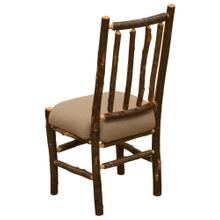 View Product - Bistro Spoke Side Chair - Natural Hickory - Standard Fabric