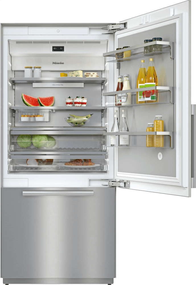 MieleKf 2902 Sf - Mastercool™ Fridge-Freezer For High-End Design And Technology On A Large Scale.