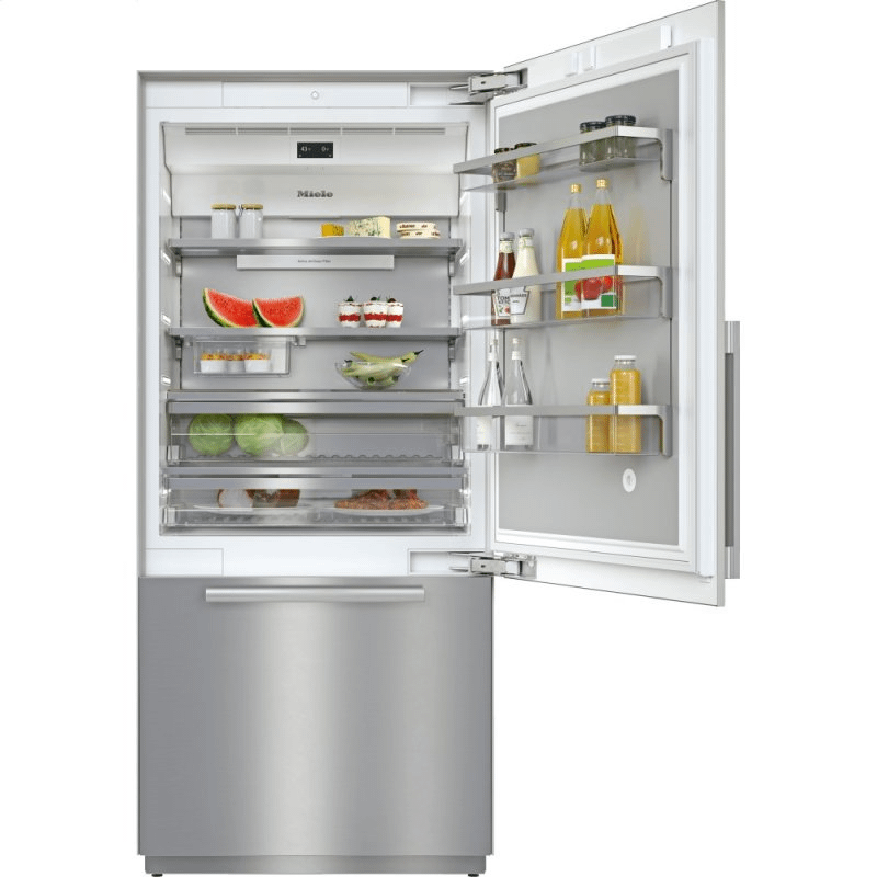 KF 2902 SF - MasterCool™ fridge-freezer For high-end design and technology on a large scale.