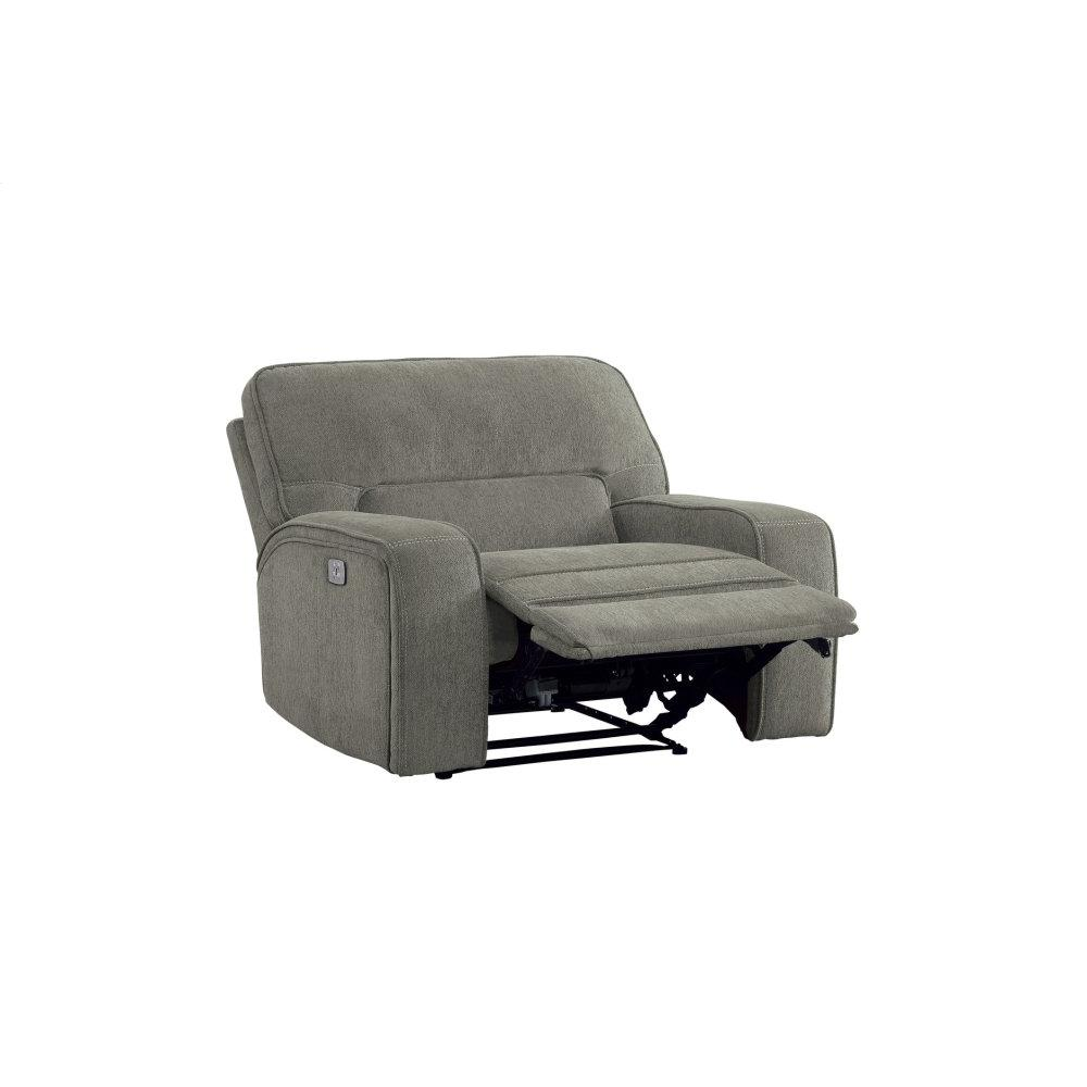 Power Double Reclining Sofa with Power Headrests and USB Ports