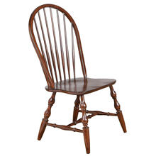 Product Image - Windsor Spindleback Dining Chairs - Chestnut (Set of 2)